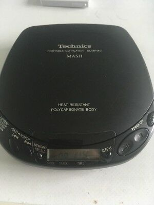 TECHNICS SL-XP140 Portable/Personal CD Player Vintage made in Japan