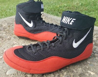 BNIB Red Nike Inflict 3 Wrestling Shoes Size 12