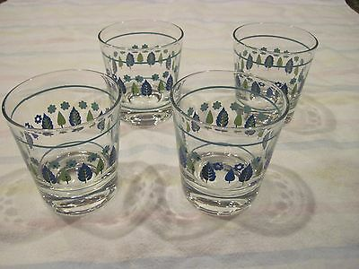 Marcrest Swiss Alpine Juice Glasses ( Set of Four)