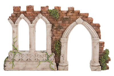 Miniature Dollhouse FAIRY GARDEN - Gothic Folly - Accessories