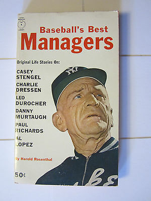 Baseball's Best Managers by Harold Rosenthal