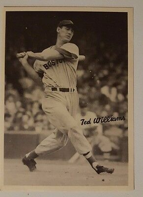 1949 Big League Novelty Productions Ted Williams Photo