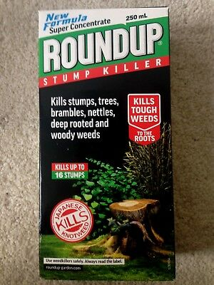 ROUNDUP TREE STUMP & ROOT KILLER SUPER CONCENTRATE 250ml NEW FORMULA
