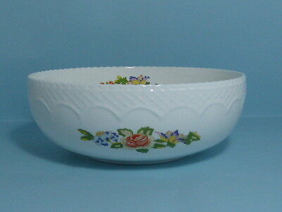 "Charming Aynsley Cottage Garden Sovereign Bowl 7"" Diameter"