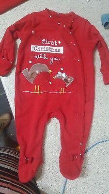 baby girl christmas clothes 0-3 mths