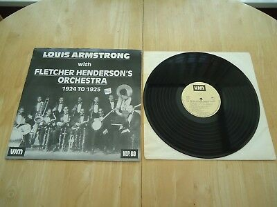 Louis Armstrong With Fletcher Henderson's Orchestra ~ Lp Album ~ Rare Jazz