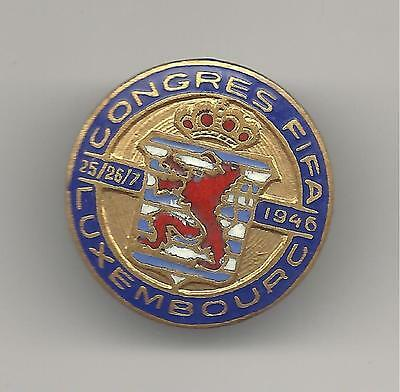 FIFA Congress 1946 Luxembourg Buttenhole Badge