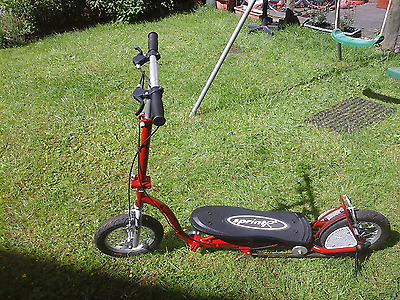 Re-CYCLEd SPRINT R PUMP AND GO SCOOTER  FOLDABLE , RARE