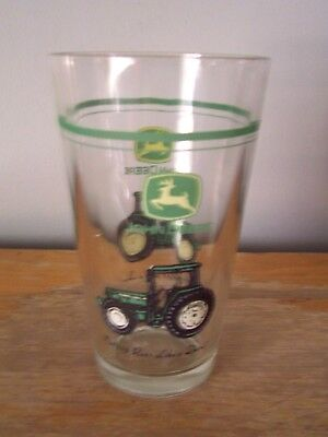 "John Deere 5 3/4"" Heavy Glass Tumbler - Nothing Runs Like A Deere"