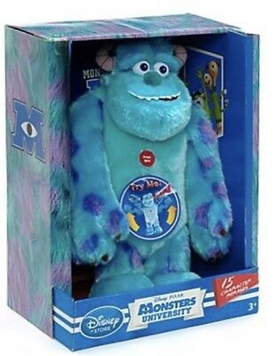 Talking Sulley From Monster University, Scare Me Soft Toy.