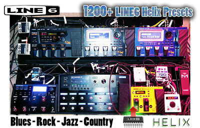 1,200 Patches - Line6 Helix & Helix LT - Effects - Custom Tone / preset patch