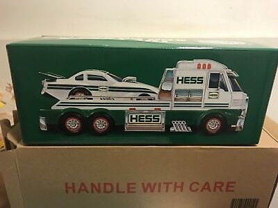 Hess Truck 2016 with Dragster  New in box! Never opened