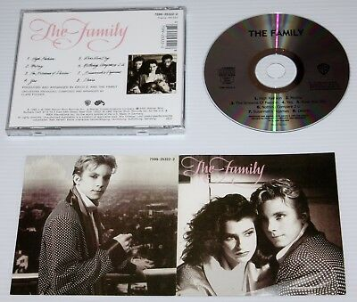 The Family - Self Titled 1985 Cd Album - Prince St Paul Npg - Screams Of Passion