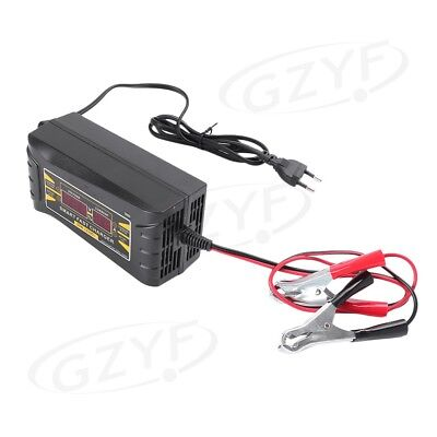 Universal Auto Car 12V 10A Smart Fast Lead-acid Battery Charger LCD Display