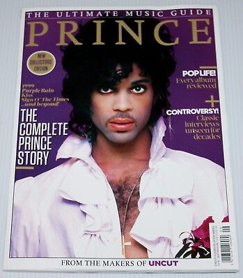 Prince - Ultimate Music Guide - Uncut Magazine - Complete Story - Issue 9 - 2017
