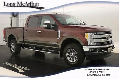 2017 Ford F-250 LARIAT DIESEL 4WD SUPERCREW CAB 4X4 SUPER DUTY SHORT BED ADAPTIVE STEERING MOONROOF HEATED AND COOLED SEATS TURBO POWERSTROKE