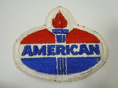 Vintage AMERICAN Fuel Embroidered Sew On Uniform-Jacket Patch 3.25""