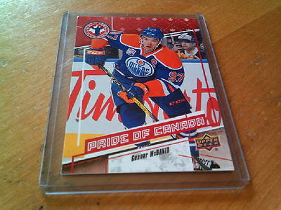 2016-17 Connor Mcdavid Ud National Canada  Day  #9