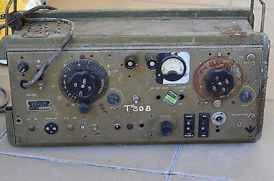 Vintage ZC-1 Mk1 New Zealand Military Radio