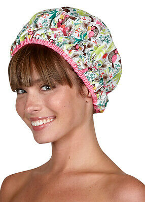 Deco Dots Mold Resistant - Waterproof Shower Cap by Betty Dain Creations