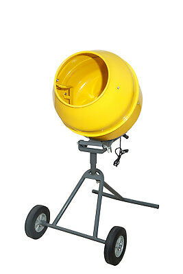 NEW-Portable Electric Concrete Cement Mortar Mixer 1/2HP 5' Drum -FREE SHIPPING