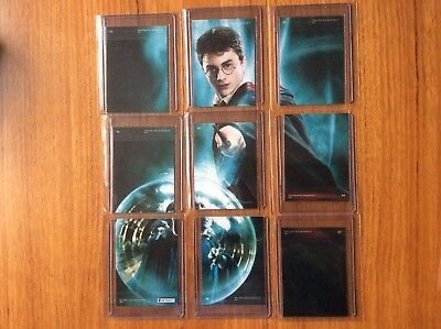 Artbox Harry Potter POA- U Chase Cards R1 - R9