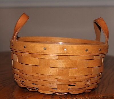 Longaberger 1993 Button Basket with Protector