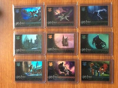 Artbox Harry Potter POA Chase Cards R1 - R9