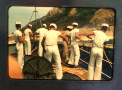 1950's Lot 100 Color Glass Slides Asia Japan Cars Sailors War Ships Sunsets More