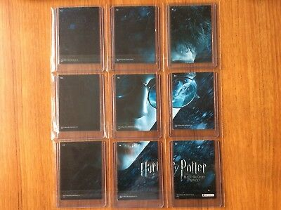 Artbox Harry Potter Half Blood Prince Chase/Puzzle Card R1 - R9