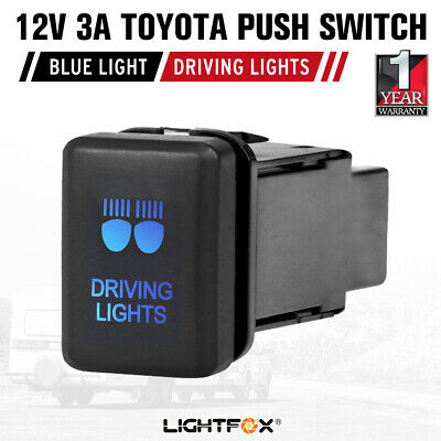 Push Switch Driving Lights Suitable For Toyota Prado Hilux Landcruiser
