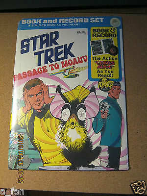 Star Trek:  Passage to Moauv - Factory Sealed Book & Record set - 1975 - Promo