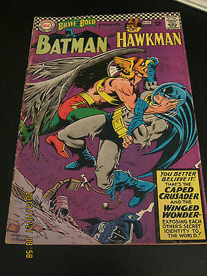 Brave and the Bold # 70 February 1967 Batman and Hawkman - Infantino cover VG