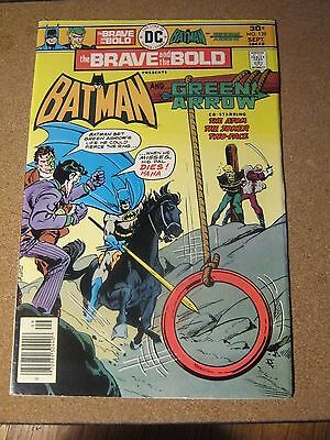 Brave and the Bold #129 DC September 1976 Batman and Green Arrow