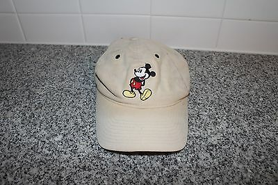 Vintage 90s MICKEY MOUSE Essential LOGO Hat ONE SIZE 90's Disney