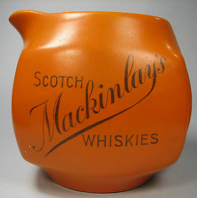 Mackinlay's Whiskey Water Jug Green & Nephew Vintage Advertising Scotch