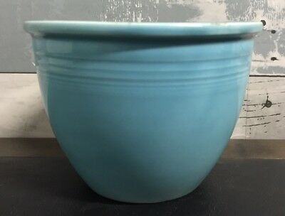 "Vintage Fiesta #1 Mixing Bowl Turquoise 4 3/4"" Homer Laughlin HARD TO FIND"
