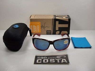 f648c9787ebea Costa Del Mar Polarized Sunglasses Inlet It48 Obmp Pomegranate blue 580P  Lens