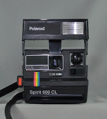 Polaroid Spirit 600 CL in box with manual