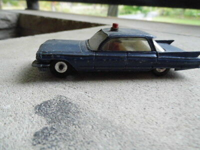 DINKY TOYS Cadillac Meccano LTD  state trooper  die-cast