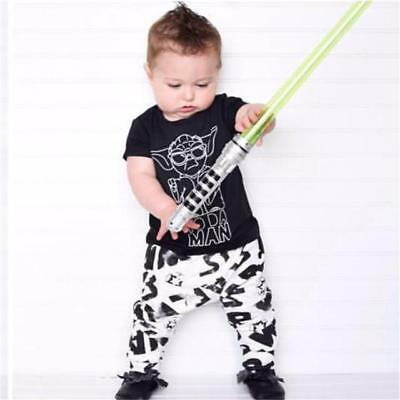 baby boy clothes star wars t-shirt+pants newborn clothing set infant outfits ...