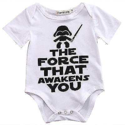 Newborn Star Wars Baby box girl unisex Clothes Cotton Bodysuit Rompers Outfits