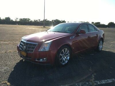 2008 Cadillac CTS Luxury 2008 Cadillac CTS Luxury AWD 3.6 Direct Injection Crystal Red