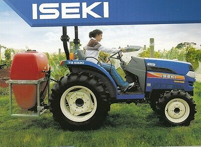 ISEKI TG5330 4 x 4 TRACTOR &  FRONT END LOADER WITH 4 IN 1 BUCKET - ONLY 12 HRS