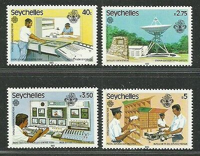 Seychelles 1983 Very Fine MNH Stamps Scott # 507-510 CV 2.15 $