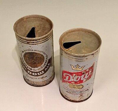 Dow Ale Beer Can Old Vintage Dow Ale Cans Lot (2)