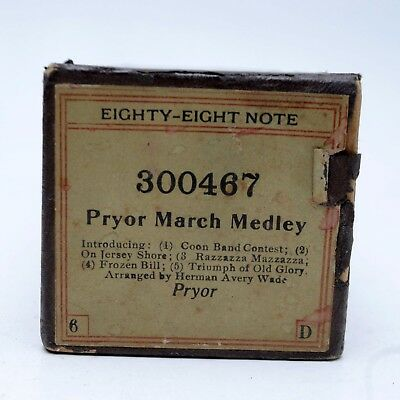 Piano Roll Eighty-Eight Note 300467 Pryor March Medley