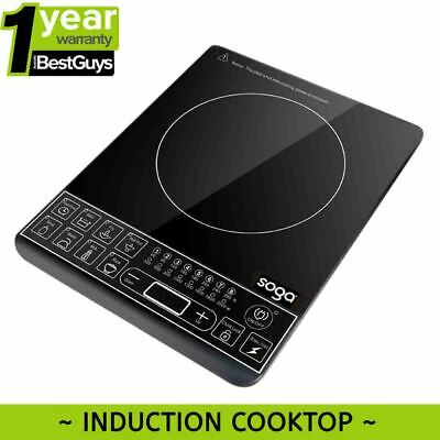 Portable Induction Cooktop 12 Month Warranty