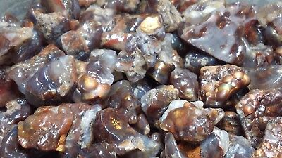 Fire Agate High Grade Window Aguascalientes Excellent Color Limited 145+CT  Lots