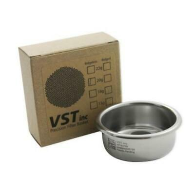 Filter Basket 58mm Group VST Precision Double 20g Ridgeless  VST